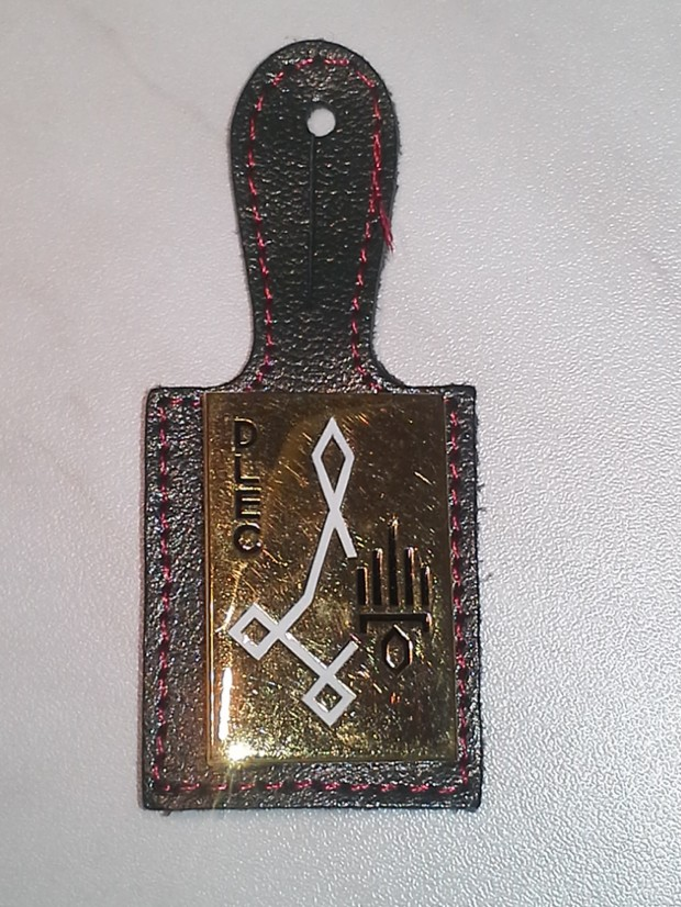 Detachement de Légion Étrangère de Comores. Rückseite blanko.