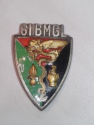 61° Batallion Mixte Génie Légion; Front