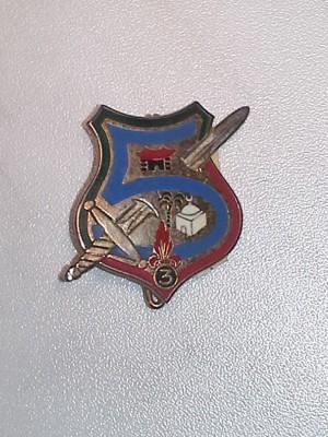 5° Compagnie du 2° Bataillon du 3°REI; Front