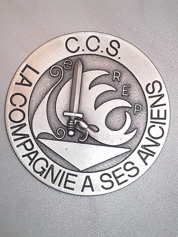 """2°REP: CCS; """"Compagnie a ses Anciens""""; Front"""
