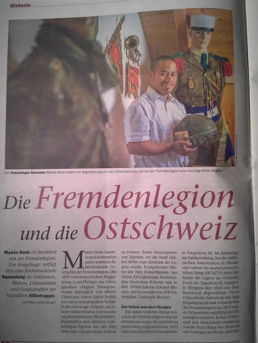 TAZ Ostschweiz 23. Sept. 2015.