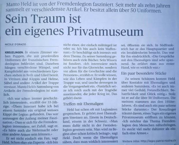 Zeitungsbericht ThgZ 21.12.2014